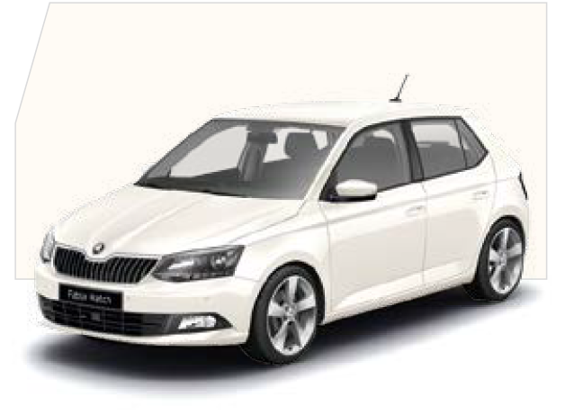 Fabia Candy White