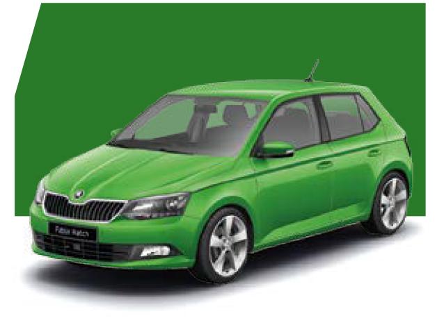 Fabia Rallye Green