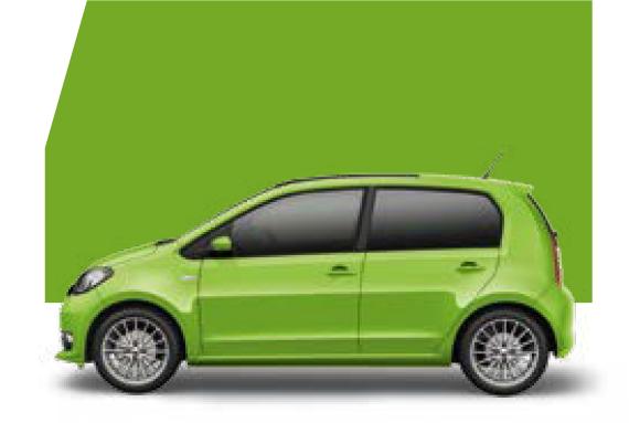 Citigo Kiwi green