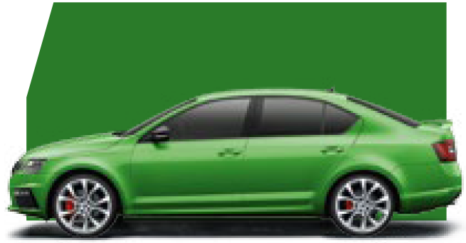 Octavia Rallye Green