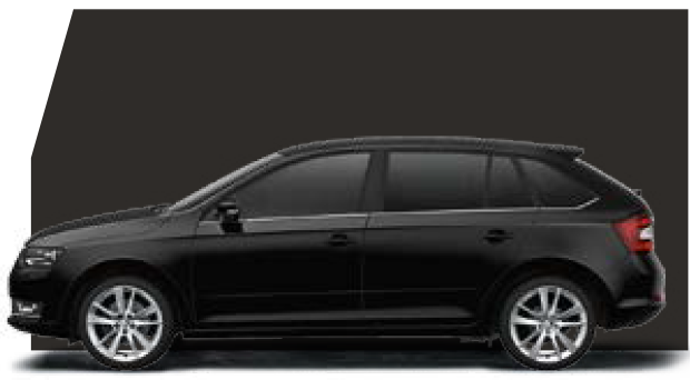 Rapid Spaceback Black Magic Pearl-Effect