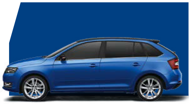 Rapid Spaceback Race Blue