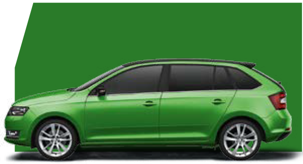 Rapid Spaceback Rallye Green