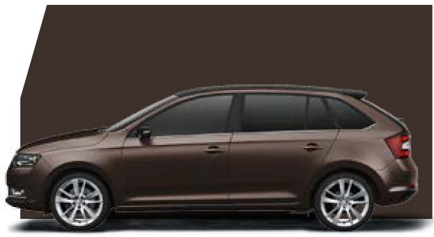 Rapid Spaceback Maple Brown